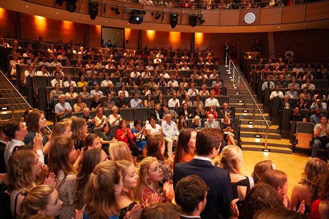De foto's zijn gemaakt in opdracht van de Haagse Hogeschool